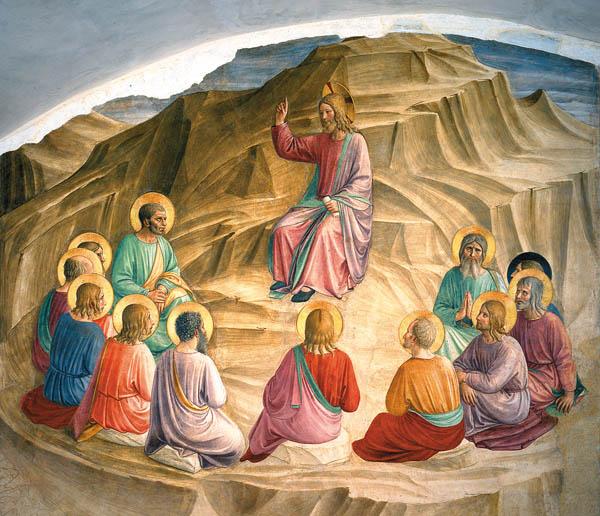 Sermón del Monte (Bienaventuranzas) de Frangélico